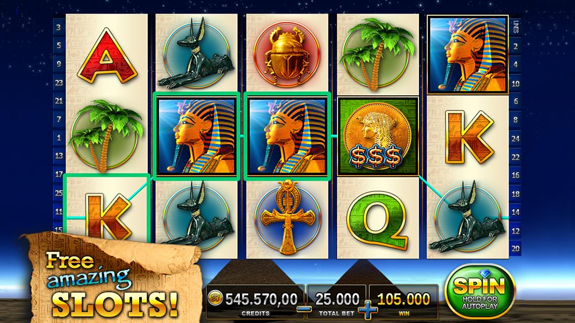 free online bonus slots for fun pharaoh s