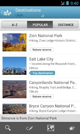 Utah Travel Guide by Triposo