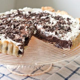 Chocolate Stout Pudding Pie.