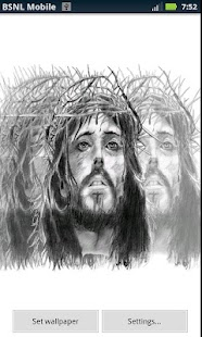 Vibrant Jesus Live Wallpaper - screenshot thumbnail