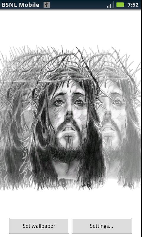 Vibrant Jesus Live Wallpaper- screenshot