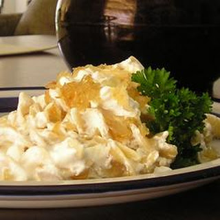 Turos Csusza (Pasta with Cottage Cheese).