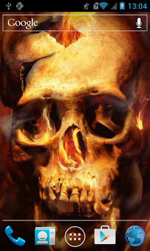 Sundered Skull on Fire Live