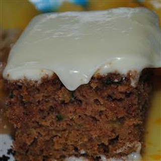 Zucchini Cake II