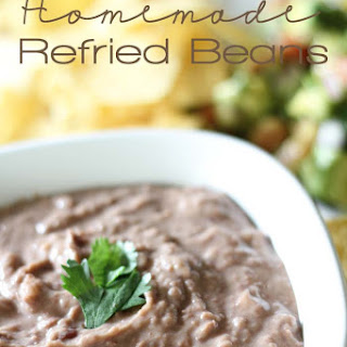 Mom's Homemade Refried Beans