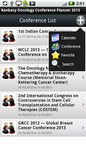 Oncology Conference Planner