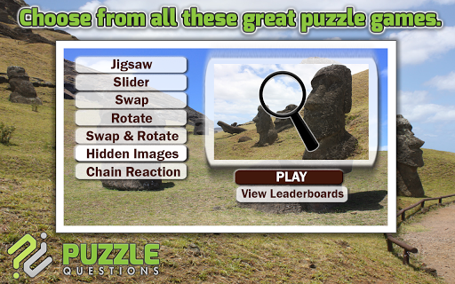 Easter Island Puzzle Games