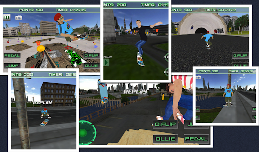 Skate Board 3D Skating Games - screenshot thumbnail
