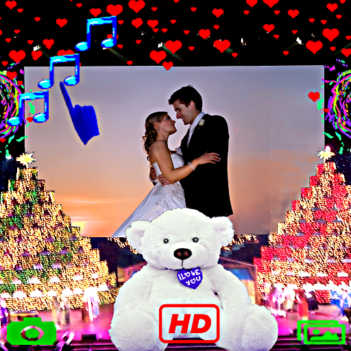 摄影のビルボードの愛のフレーム写真 LOGO-記事Game