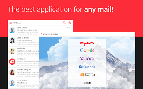 myMail—Free Email Application Screenshot 8