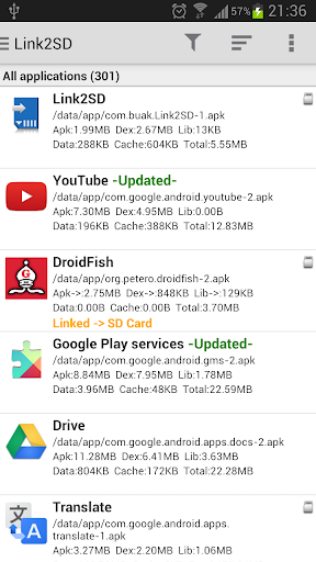 Link2SD Plus unlocked for Android - Latest Version 4 0 13