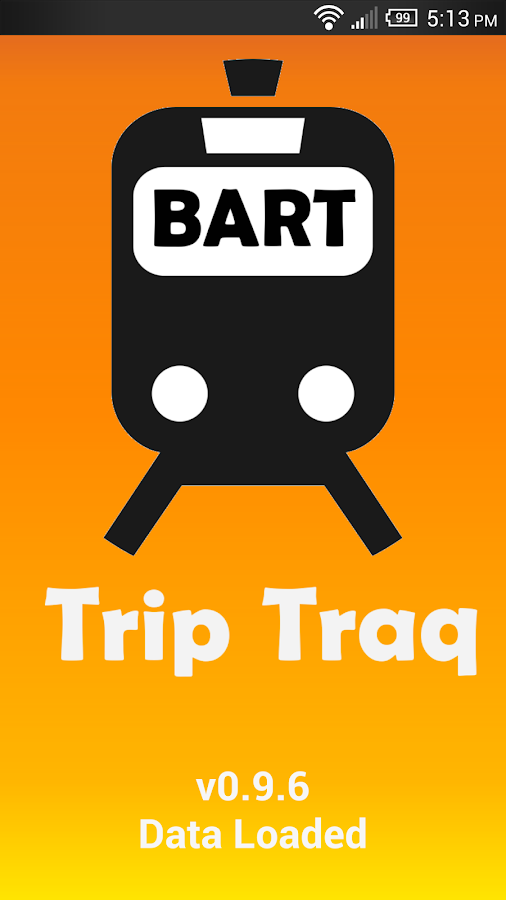 Trip Traq BART - screenshot