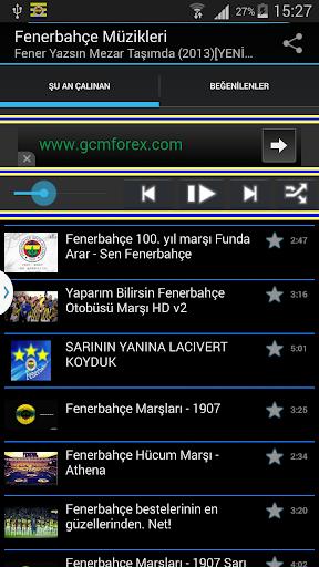 Fenerbahçe Müzikleri Dinle