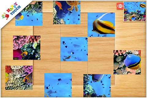 FREE Photo Puzzle App for Kids- screenshot