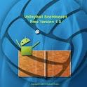 Volleyball Scoreboard Free logo