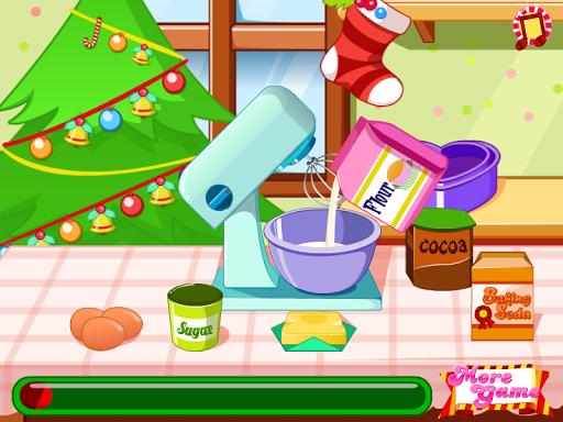 ケーキの装飾の女の子のゲーム