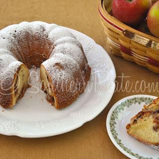 Apple Pound Cake.