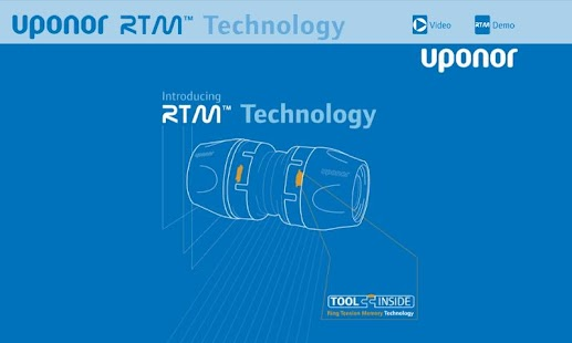 Uponor RTM™ Interactive - screenshot thumbnail
