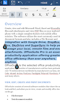 Screenshot of OfficeSuite Font Pack
