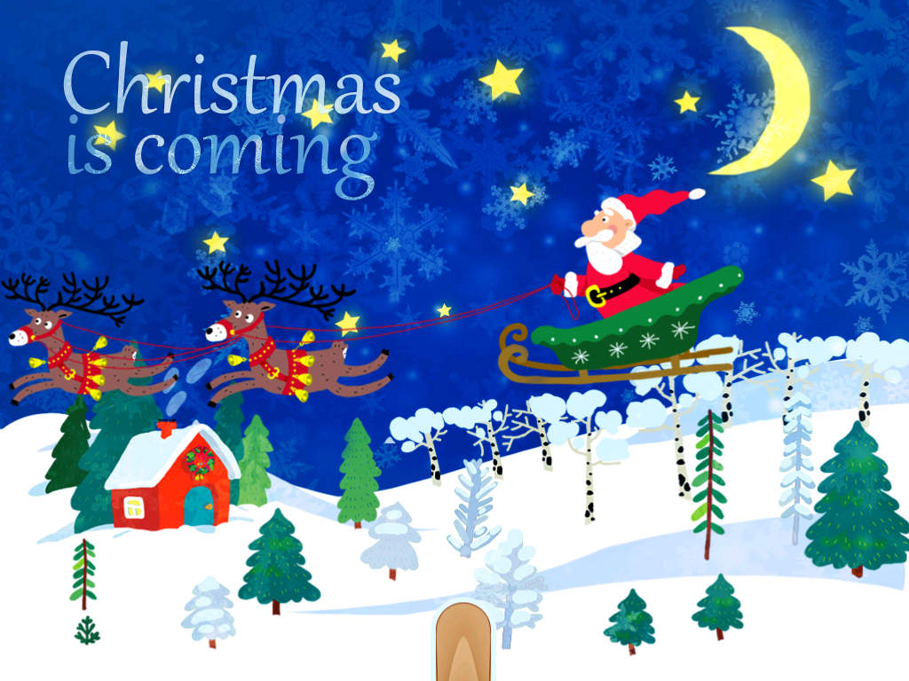Magic Christmas Coloring Book Screenshot