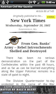 1862 July Am Civil War Gazette - screenshot thumbnail