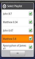 Screenshot of Jesus Said