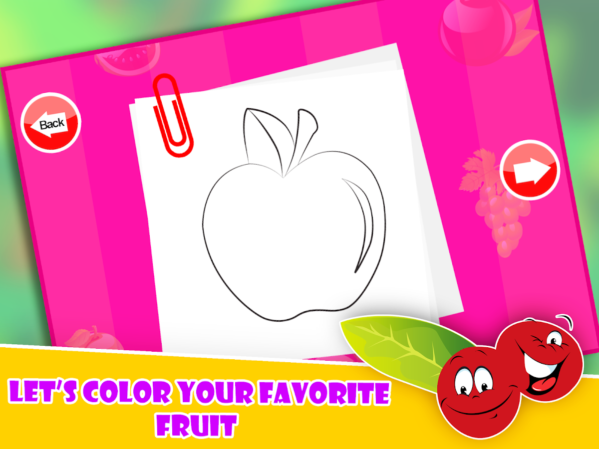 Fruit Pop Coloring For Toddler - Android Apps on Google Play