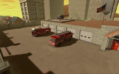 Firefighter Simulator 3D APK screenshot thumbnail 1