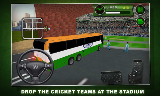 Cricket World Cup Bus 2015