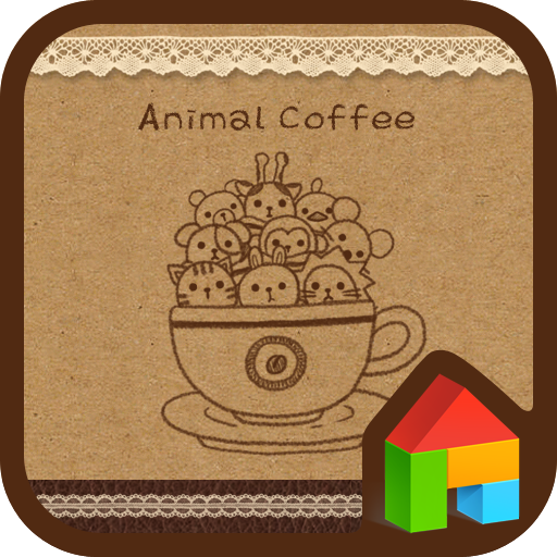 animal coffee dodol theme