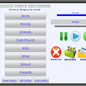 Quick Voice Recorder logo
