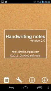 Handwriting Notes (+reminder)- screenshot thumbnail