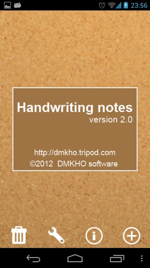 Handwriting Notes (+reminder)- screenshot