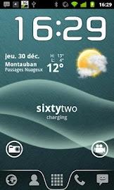 Text Battery Widget Screenshot 1