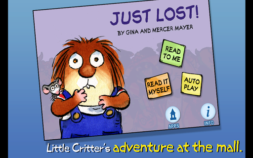 【免費書籍App】Just Lost - Little Critter-APP點子