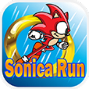 Super Runner Sonica Game for Android