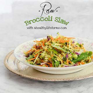 Raw Broccoli Slaw
