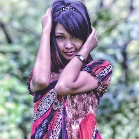 Gadis Melayu by Tun Izmir - People Portraits of Women ( melayu, malaysia, gadis melayu, gadis, ipoh )