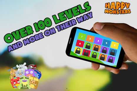 Happy Monsters (Slide Puzzle) - screenshot thumbnail