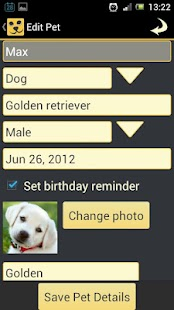 Pet Pal - Pet Manager - screenshot thumbnail