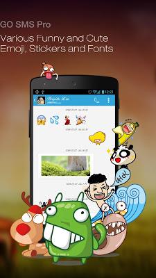 GO SMS Pro Premium v5.61 build 243 APK