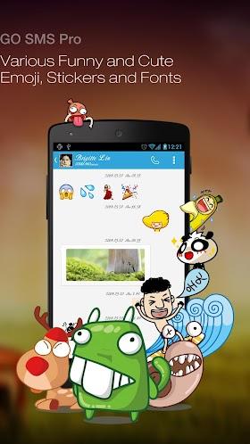 GO SMS Pro Premium 6.22 build 246 APK