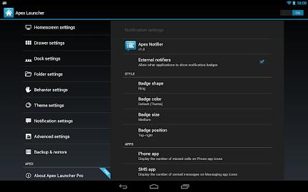 Apex Launcher Pro Screenshot 13