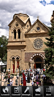 Archdiocese of Santa Fe- screenshot thumbnail