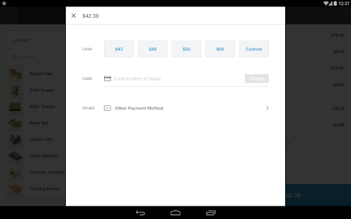 Square Register - POS Screenshot 13