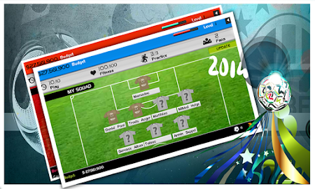 World Cup 2014 Soccer Manager 1.0 screenshot 52320