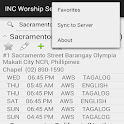 INC Worship Service Directory icon