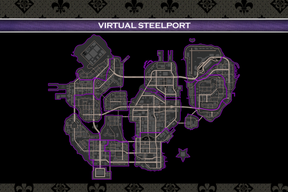 Saints Row 4 Official Map App- screenshot
