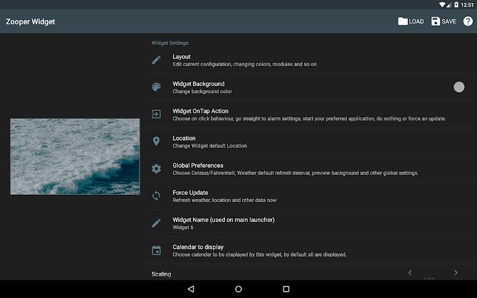 Zooper Widget Pro Android 8