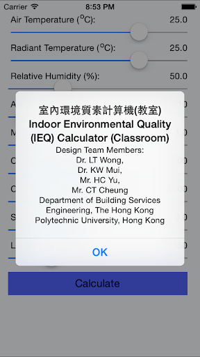 IEQ Calculator Office